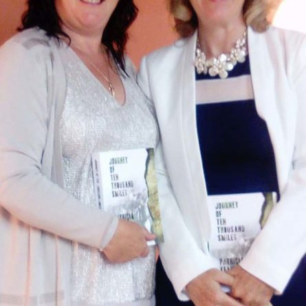 Caroline Denehan and Anna Marie McKenna at the launch of Journey Of Ten Thousand Smiles