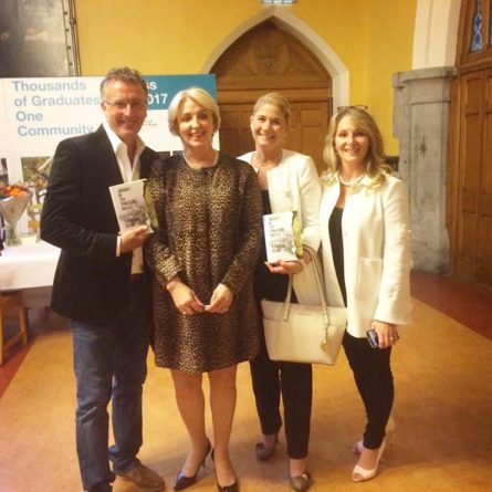 Tom Walsh, Patricia Keane, Mary, Tracy Stein at the launch of Journey Of Ten Thousand Smiles